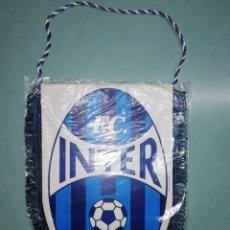 Coleccionismo deportivo: BANDERIN FC INTER SIBIU DE RUMANIA. Lote 194195671