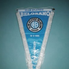 Coleccionismo deportivo: BANDERIN C. A. BELGRANO DE ARGENTINA. Lote 194196802