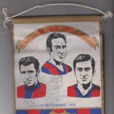 Coleccionismo deportivo: F.C. BARCELONA -- ELS VOSTRES AMICS --RIFÉ -- SADURNÍ -- TORRES BEN AFECTUOSAMENT -- CON AUTOGRAFOS. Lote 194225427
