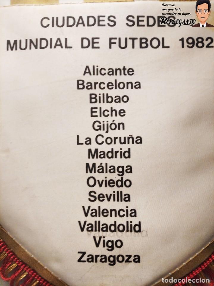 Coleccionismo deportivo: BANDERÍN NARANJITO MUNDIAL DE FÚTBOL ESPAÑA 82 (CIUDADES - SEDES) - Foto 7 - 194572265