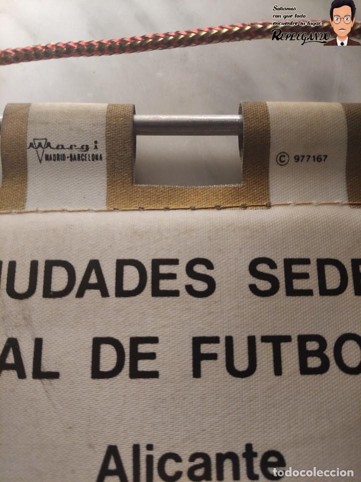 Coleccionismo deportivo: BANDERÍN NARANJITO MUNDIAL DE FÚTBOL ESPAÑA 82 (CIUDADES - SEDES) - Foto 10 - 194572265