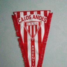 Coleccionismo deportivo: BANDERIN C. A. LOS ANDES DE ARGENTINA. Lote 194611230