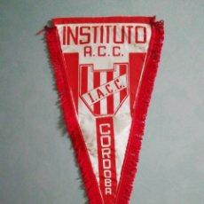 Coleccionismo deportivo: BANDERÍN INSTITUTO ATLÉTICO CENTRAL CÓRDOBA DE ARGENTINA. Lote 194612301