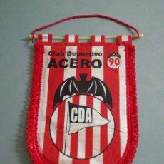 Coleccionismo deportivo: BANDERIN C. D. ACERO 90 ANIVERSARIO. Lote 194613155