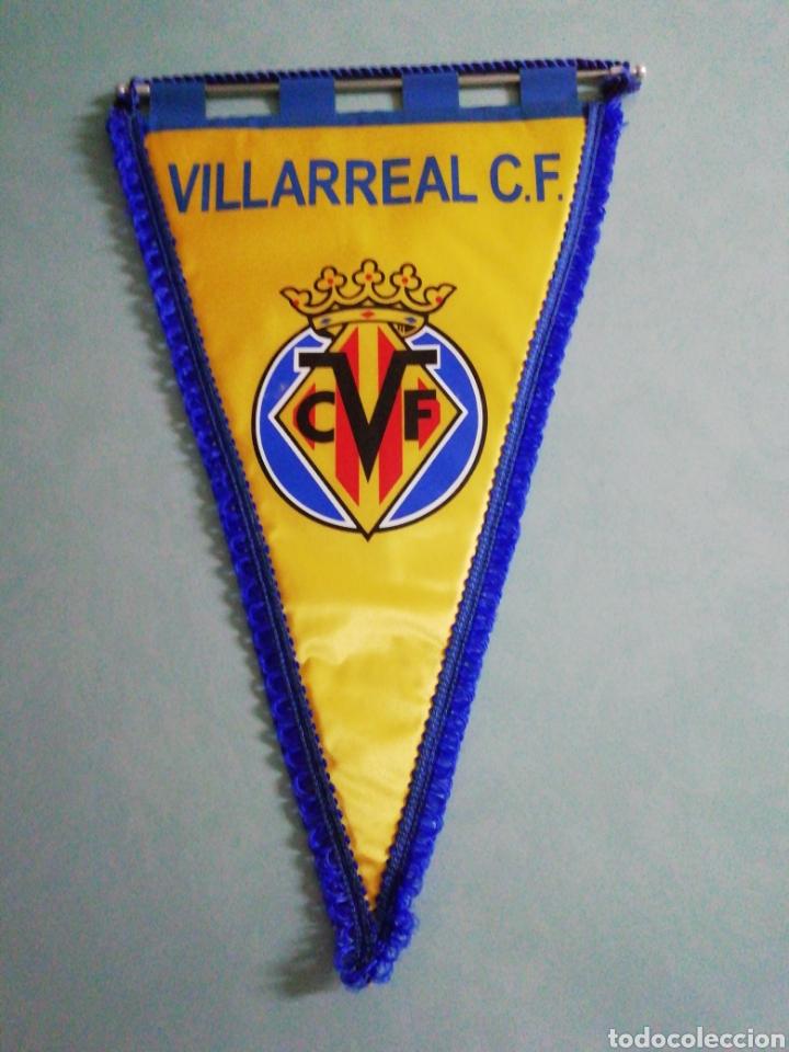 BANDERIN VILLARREAL CF (Coleccionismo Deportivo - Banderas y Banderines de Fútbol)