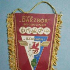 Coleccionismo deportivo: BANDERIN MKKS DARZBOR. Lote 194616181