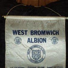 Coleccionismo deportivo: BANDERÍN ÚNICO? WEST BROMWICH ALBION FOOTBALL CLUB 1975 1976. Lote 194881226