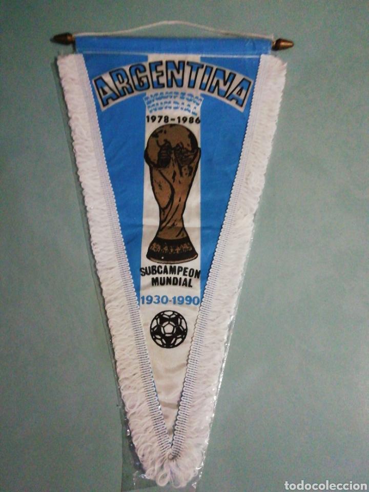 BANDERIN SELECCIÓN ARGENTINA (Coleccionismo Deportivo - Banderas y Banderines de Fútbol)