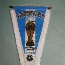 Coleccionismo deportivo: BANDERIN SELECCIÓN ARGENTINA. Lote 195329187