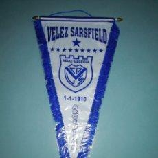 Colecionismo desportivo: BANDERIN VÉLEZ SARSFIELD (ARGENTINA). Lote 195891588