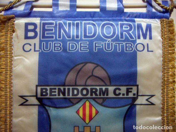 Coleccionismo deportivo: BANDERÍN DEL BENIDORM C F 1964 - Foto 3 - 196677272