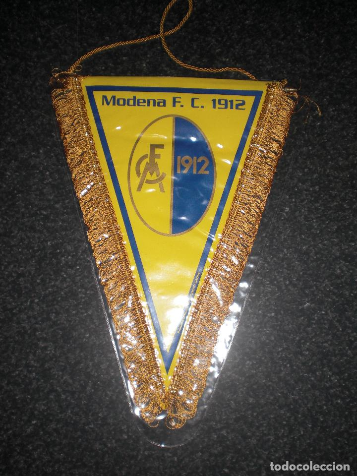 BANDERÍN MODENA FC ITALIA (Coleccionismo Deportivo - Banderas y Banderines de Fútbol)
