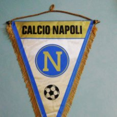 Coleccionismo deportivo: BANDERIN CALCIO NAPOLI DE ITALIA. Lote 197354800