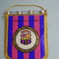 Coleccionismo deportivo: BANDERIN PEÑA BARCELONISTA ALCALÁ DE HENARES. Lote 197357620