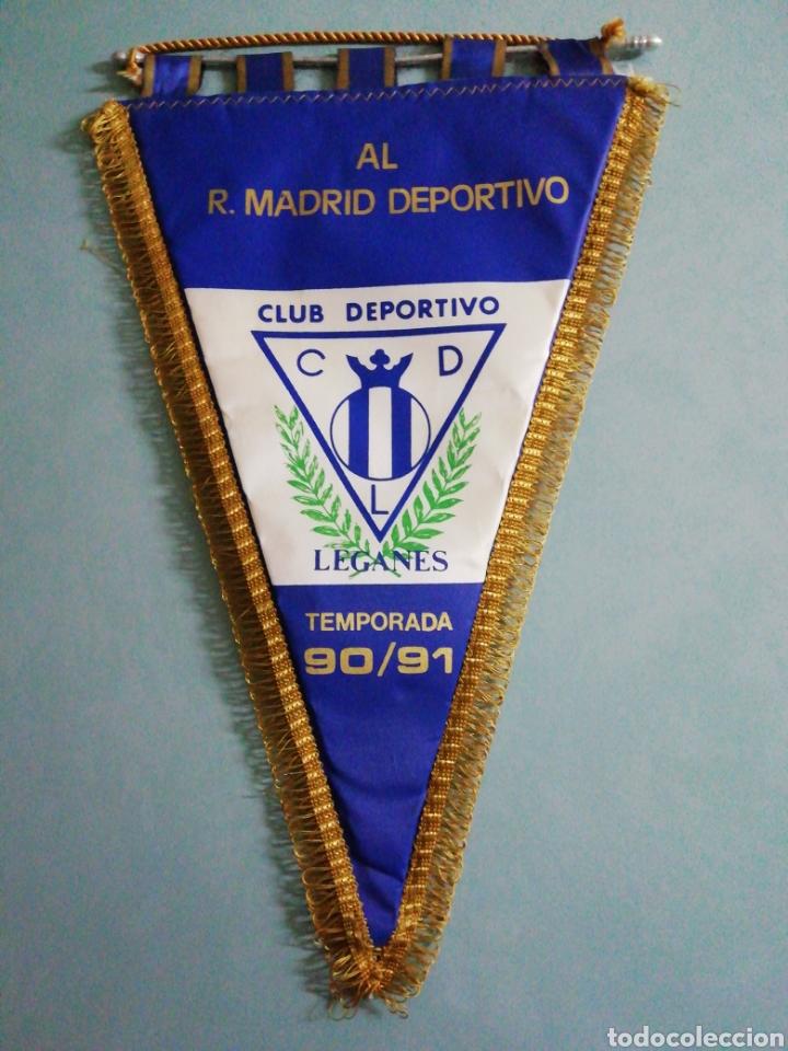 BANDERIN CLUB DEPORTIVO LEGANES (Coleccionismo Deportivo - Banderas y Banderines de Fútbol)
