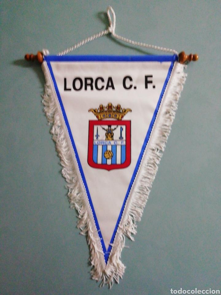 BANDERIN LORCA C. F. (Coleccionismo Deportivo - Banderas y Banderines de Fútbol)
