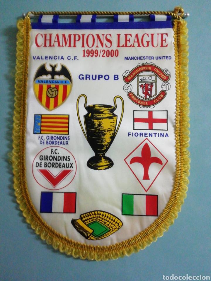 BANDERIN CHAMPIONS LEAGUE 1999/2000 (Coleccionismo Deportivo - Banderas y Banderines de Fútbol)