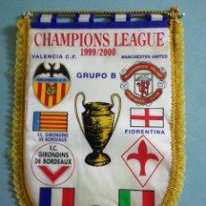 Coleccionismo deportivo: BANDERIN CHAMPIONS LEAGUE 1999/2000. Lote 197420258