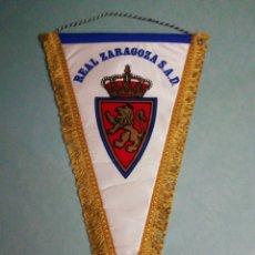 Coleccionismo deportivo: BANDERIN REAL ZARAGOZA S. A. D.. Lote 197768416