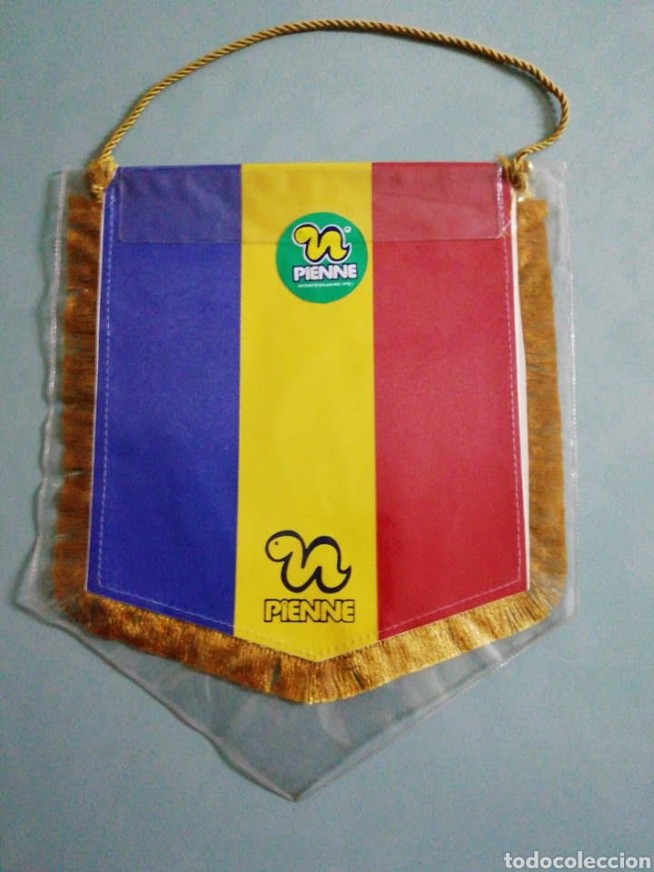 Coleccionismo deportivo: Banderin FC INTER SIBIU de Rumanía - Foto 2 - 220795870