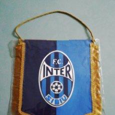 Coleccionismo deportivo: BANDERIN FC INTER SIBIU DE RUMANÍA. Lote 220795870