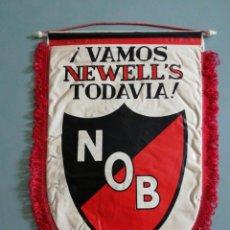 Coleccionismo deportivo: BANDERIN CLUB ATCO. NEWELL'S OLD BOYS DE ARGENTINA. Lote 198283180