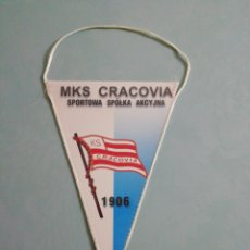 Collezionismo sportivo: BANDERIN MKS CRACOVIA DE POLONIA. Lote 198508896