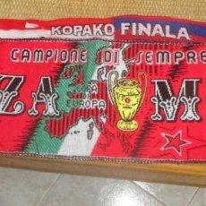 Coleccionismo deportivo: BUFANDA FUTBOL - AC MILAN - 150 CM. Lote 198532997