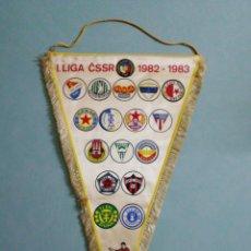 Collezionismo sportivo: BANDERIN LIGA CSSR 1982-1983. Lote 198685295