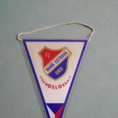 Collezionismo sportivo: BANDERIN FC BANIK OSTRAVA DE CHEQUIA. Lote 198688038