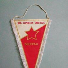 Coleccionismo deportivo: BANDERIN FC ESTRELLA ROJA DE BELGRADO DE SERBIA. Lote 198716242