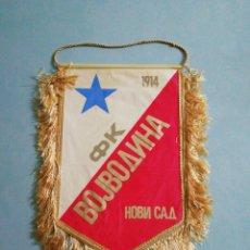 Coleccionismo deportivo: BANDERIN FK VOJVODINA NOVI SAD DE SERBIA. Lote 198727215