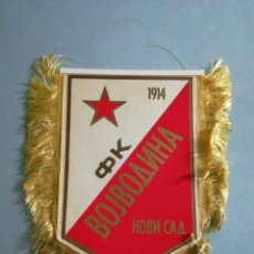 Coleccionismo deportivo: BANDERIN FK VOJVODINA NOVI SAD DE SERBIA. Lote 198727265