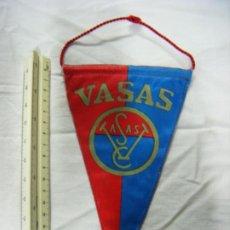 Coleccionismo deportivo: JML BANDERÍN DEL VASAS DE BUDAPEST, 19X12 CM. TELA. VER FOTOS.. Lote 199495528