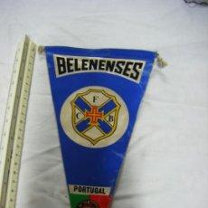 Coleccionismo deportivo: JML BANDERÍN BELENENSES C F B PORTUGAL LISBOA. VER FOTOS. 27X14 CM.. Lote 199496186