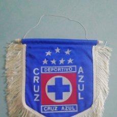 Coleccionismo deportivo: BANDERIN DEPORTIVO CRUZ AZUL DE MÉXICO. Lote 199623425