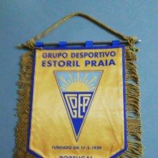 Coleccionismo deportivo: BANDERIN G. D. ESTORIL PRAIA DE PORTUGAL. Lote 199721752