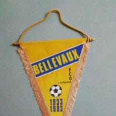 Coleccionismo deportivo: BANDERIN BELLEVAUX F. C. O. LAUSANNE DE SUIZA. Lote 199723797