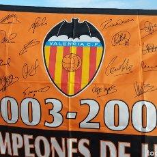 Coleccionismo deportivo: BANDERA CAMPEÓN LIGA 2003/04. Lote 199789688