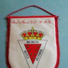 Coleccionismo deportivo: BANDERIN REAL MURCIA C. F. S. A. D. - MURCIA. Lote 199908577