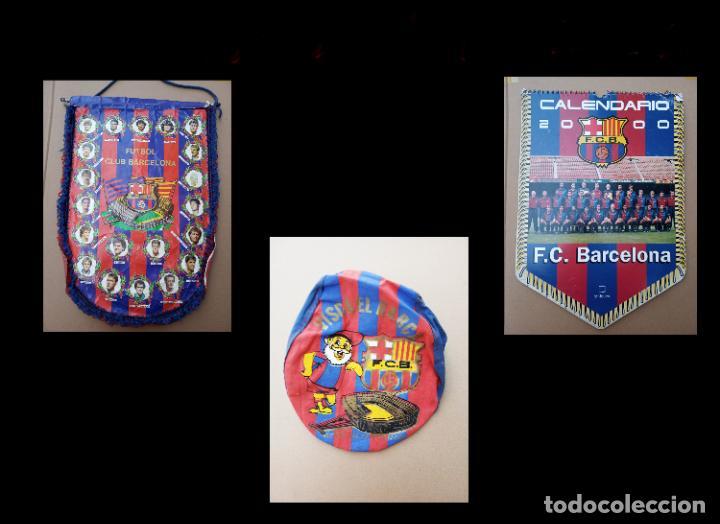 KITS PARA LOS FOROFOS DEL BARCA, BANDERÍN, CALENDARIO Y GORRA (Coleccionismo Deportivo - Banderas y Banderines de Fútbol)