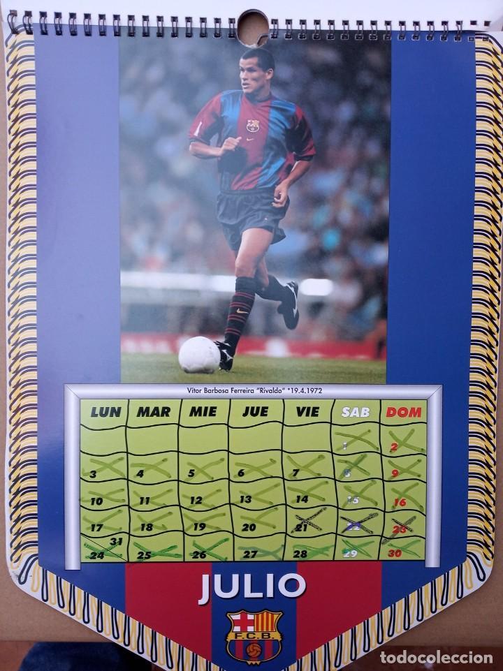 Coleccionismo deportivo: Kits para los forofos del Barca, Banderín, Calendario y gorra - Foto 7 - 200121320