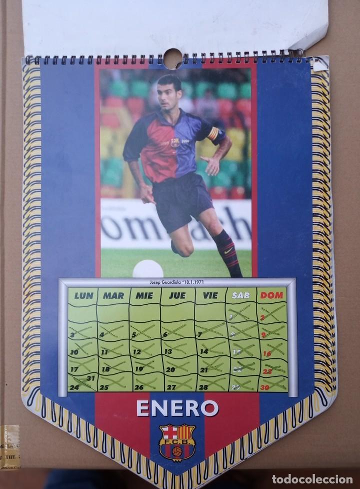 Coleccionismo deportivo: Kits para los forofos del Barca, Banderín, Calendario y gorra - Foto 9 - 200121320