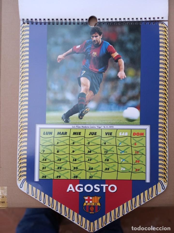 Coleccionismo deportivo: Kits para los forofos del Barca, Banderín, Calendario y gorra - Foto 10 - 200121320
