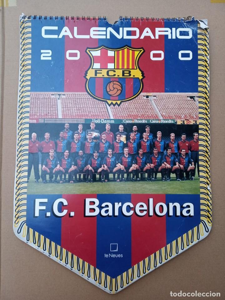 Coleccionismo deportivo: Kits para los forofos del Barca, Banderín, Calendario y gorra - Foto 16 - 200121320