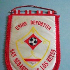 Coleccionismo deportivo: BANDERIN U. D. SAN SEBASTIAN DE LOS REYES - SAN SEBASTIÁN DE LOS REYES (MADRID). Lote 200274128
