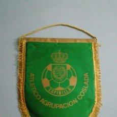 Coleccionismo deportivo: BANDERIN ATLETICO AGRUPACIÓN COSLADA - COSLADA (MADRID). Lote 200284988