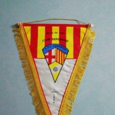 Collezionismo sportivo: BANDERIN C. D. VIVIENDAS CONGRESO - BARCELONA. Lote 200372488