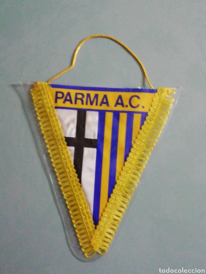 BANDERIN PARMA A. C. DE ITALIA (Coleccionismo Deportivo - Banderas y Banderines de Fútbol)