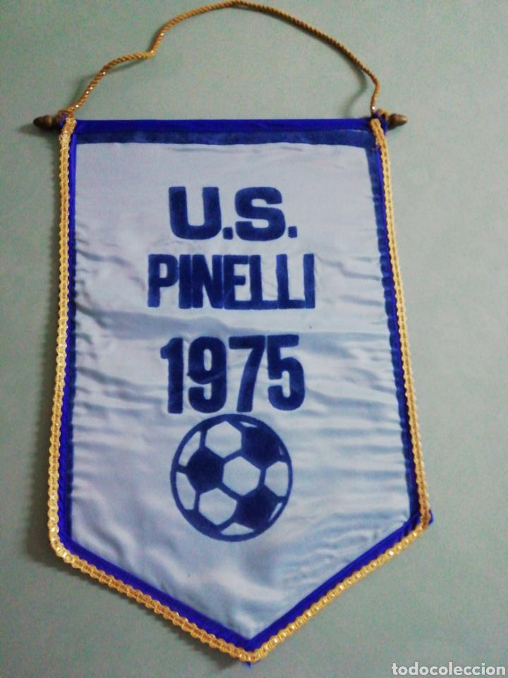 BANDERIN U. S. PINELLI DE ITALIA (Coleccionismo Deportivo - Banderas y Banderines de Fútbol)